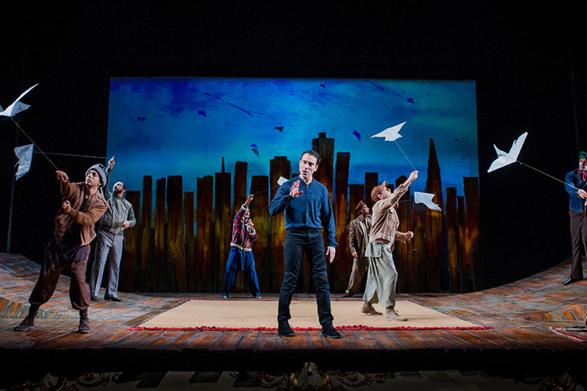 Ben Turner and the cast of The Kite Runner (Photo: Robert Workman)
