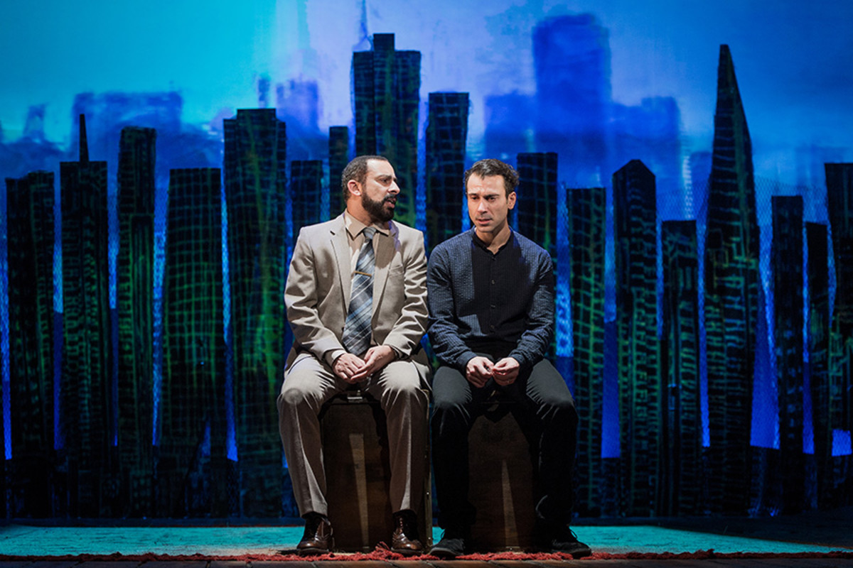 Emilio Doorgasingh and Ben Turner in The Kite Runner (Photo: Robert Workman)