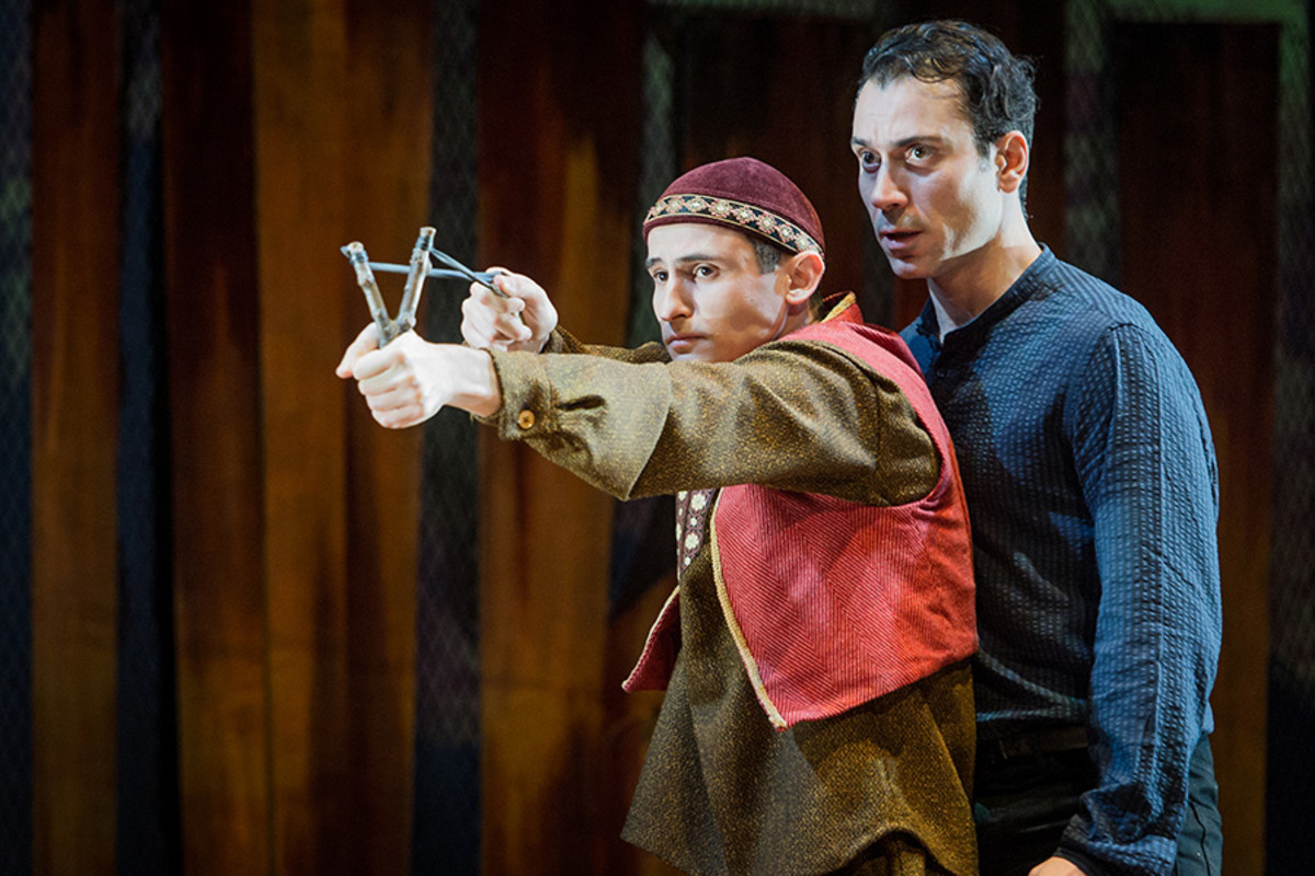 Andrei Costin and Ben Turner in The Kite Runner (Photo: Robert Workman)