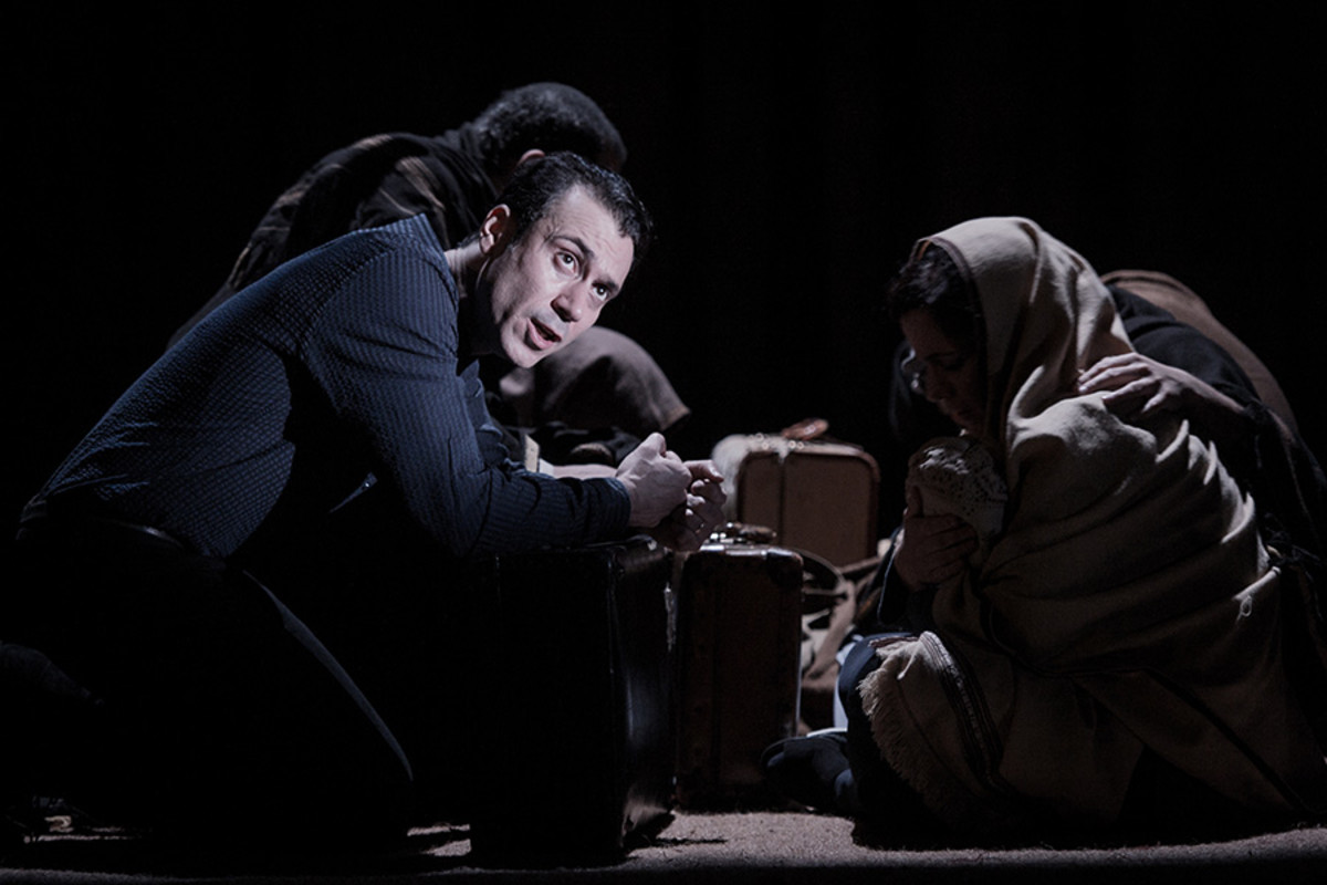 Ben Turner in The Kite Runner (Photo: Robert Workman)