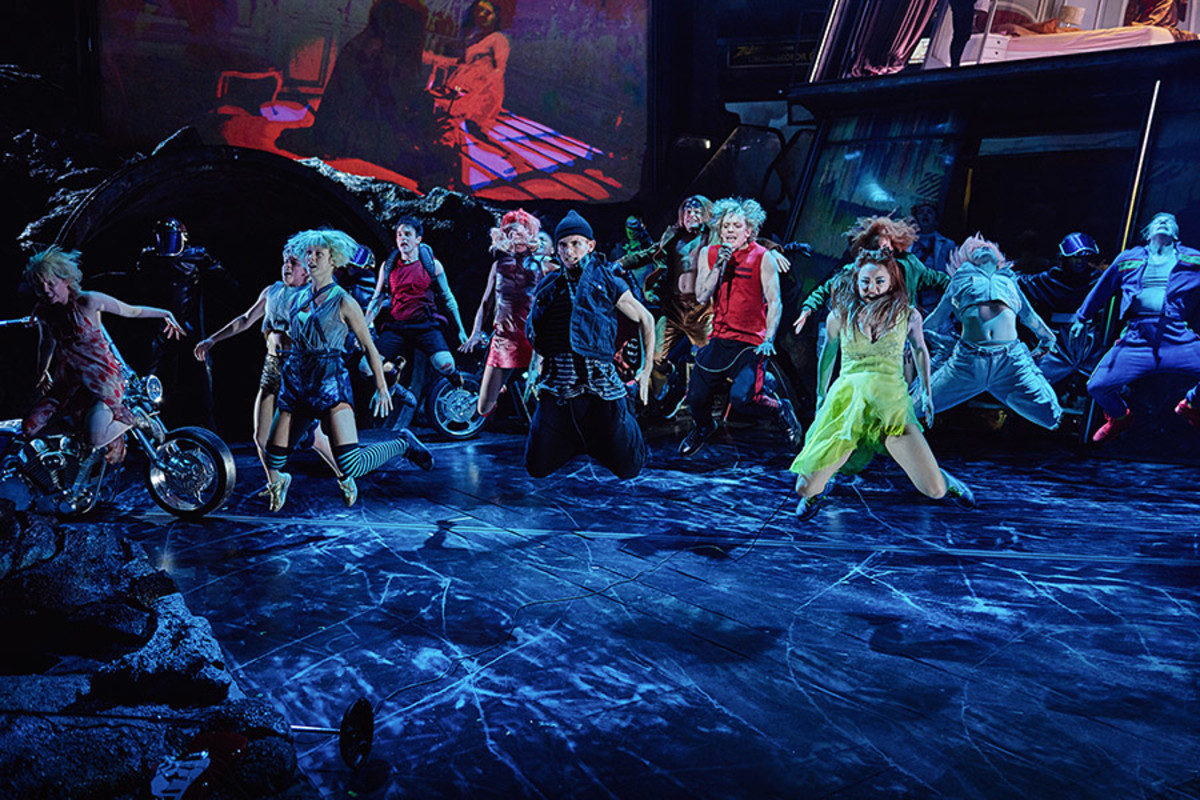 The cast of Bat Out Of Hell – The Musical (Photo: Specular)