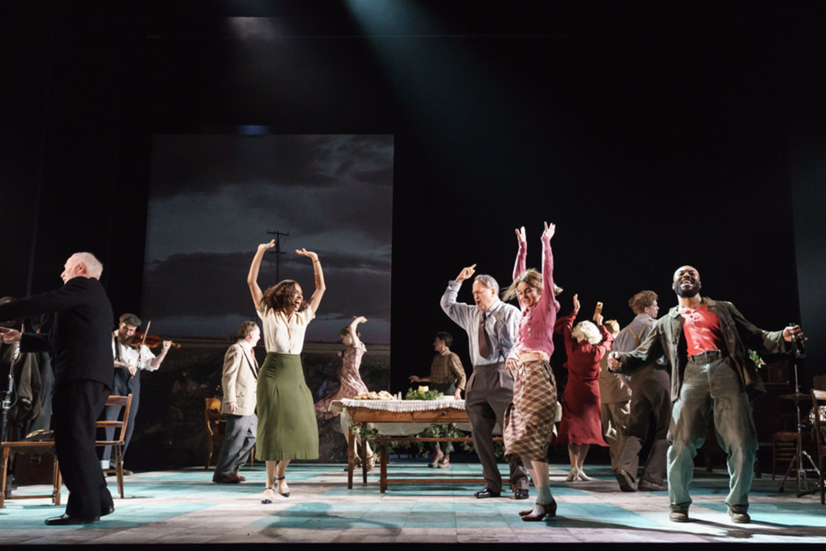 Company of Girl From The North Country at The Old Vic (Photo: Manual Harlan)