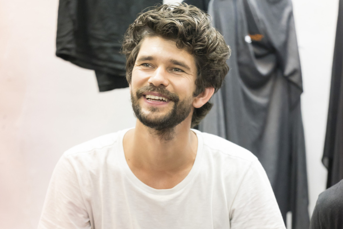 Ben Whishaw (Luke) in rehearsal for Against (Photo: Johan Persson)