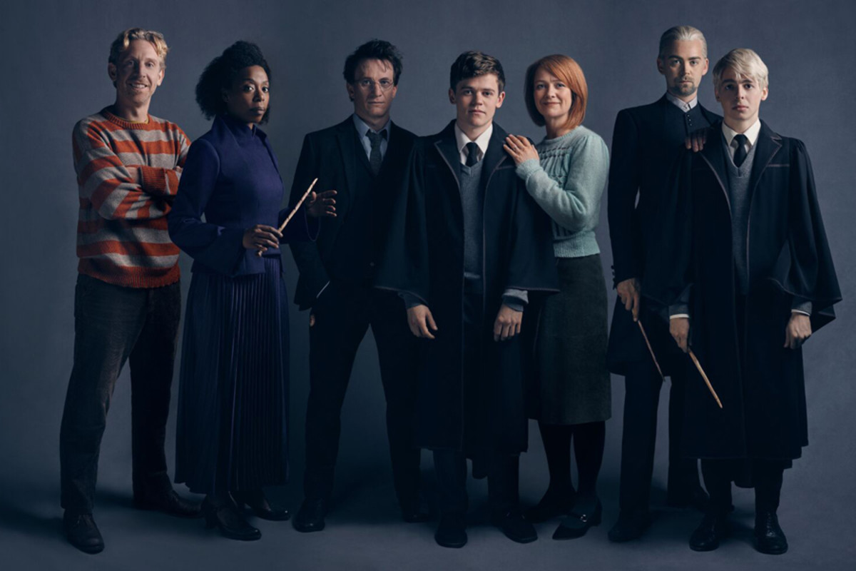 The original Harry Potter And The Cursed Child Broadway cast (Photo: Charlie Gray)