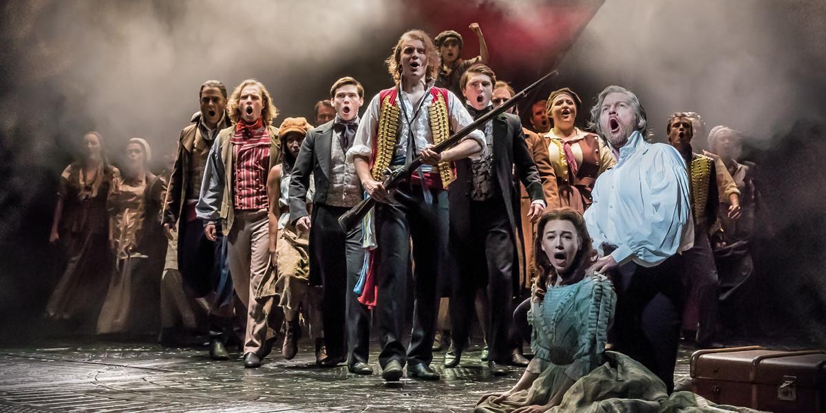 Les Misérables at The Queen's Theatre (Photo: Johan Persson)