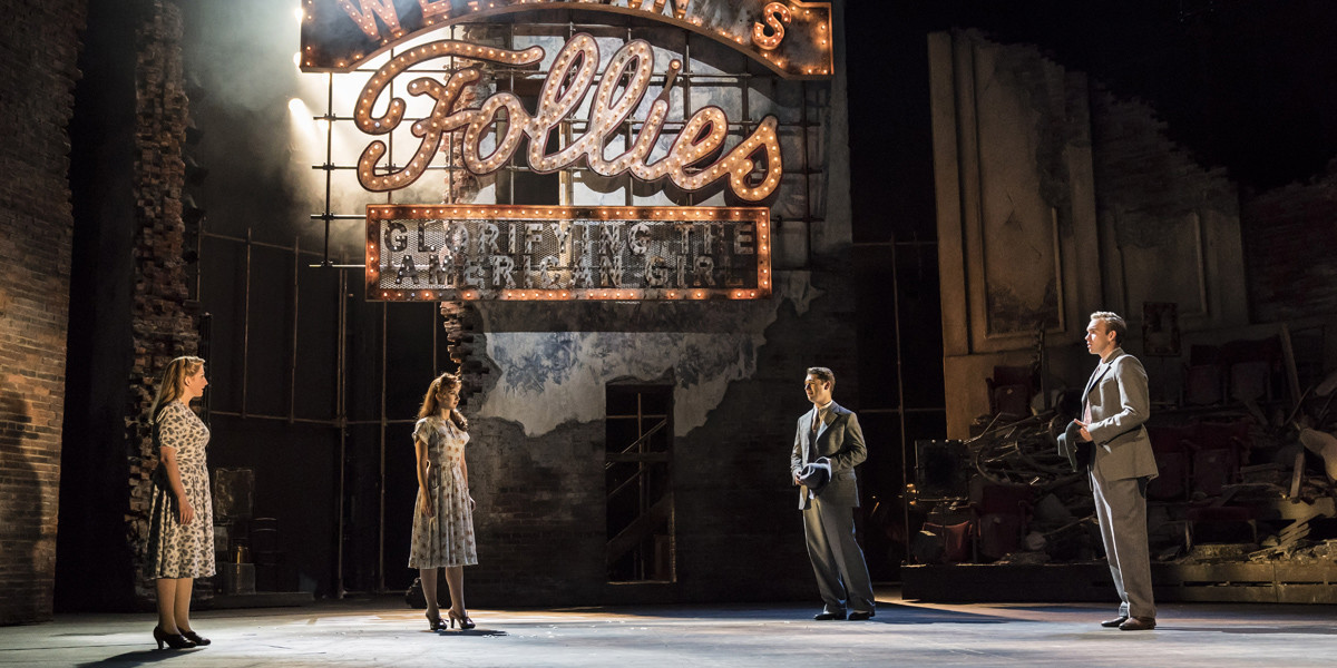 Follies at The National Theatre (Photo: Johan Persson)