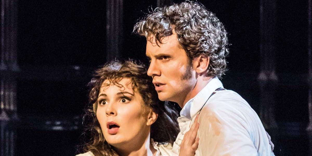 Kelly Mathieson (Christine Daae) and Jeremy Taylor (Raoul) in The Phantom Of The Opera (Photo: Johan Persson)