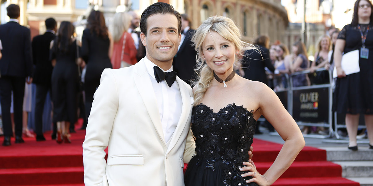 Danny Mac and Carly Stenson on the Olivier Awards 2017 with Mastercard red carpet (Photo: Pamela Raith)