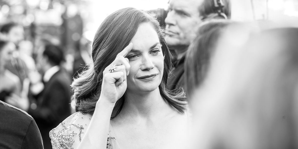 Ruth Wilson on the Olivier Awards 2017 with Mastercard red carpet (Photo: Matt Humphrey)