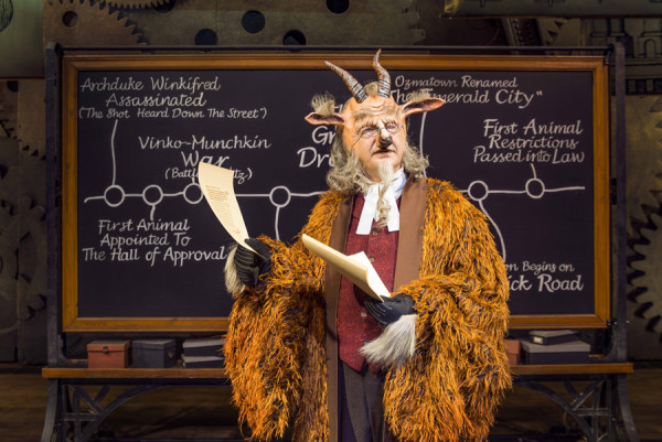 Martin Ball plays Doctor Dillamond in Wicked in London