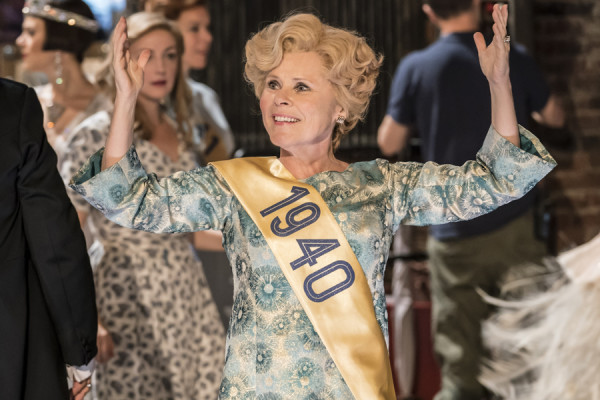 Imelda Staunton as Sally Durant Plummer in Follies at the National Theatre (Photo: Johan Persson)