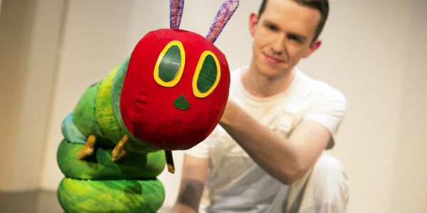 The Very Hungry Caterpillar Show at Ambassadors Theatre (Photo: Pamela Raith)