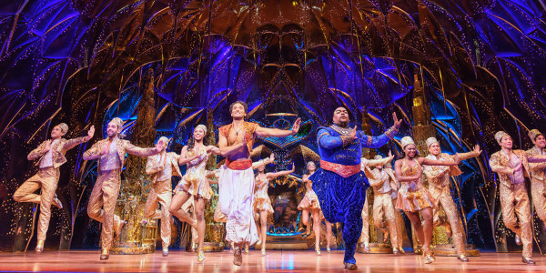 Disney's Aladdin at the Prince Edward Theatre (Photo: Johan Persson)