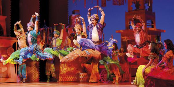Disney's Aladdin at the Prince Edward Theatre (Photo: Johan Persson)