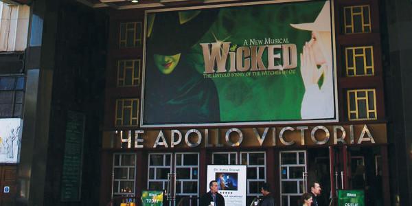 The Apollo Victoria Theatre hosts Wicked