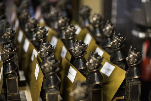 Olivier Awards statuettes