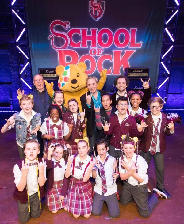 School Of Rock - The Musical's BBC Radio 2 Children in Need Gala (Photo: Paul Hampartsoumian)