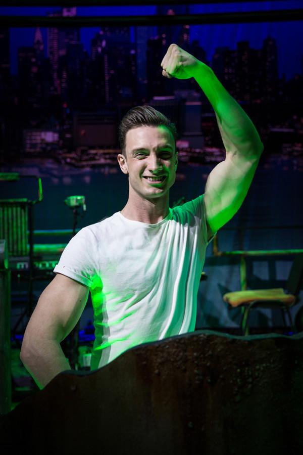 Ben Irish stars in The Toxic Avenger
