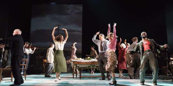 The company of Girl From The North Country at The Old Vic (Photo: Manuel Harlan)