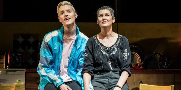 John McCrea and Josie Walker in Everybody's Talking About Jamie at Apollo Theatre (Photo: Johan Persson)