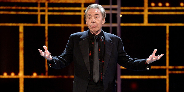 Andrew Lloyd Webber at the Olivier Awards 2017 with Mastercard ceremony (Photo: Getty/Jeff Spicer)