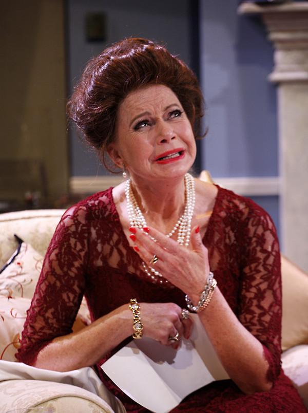Felicity Dean (HRH The Princess Margaret) in A Princess Undone (Photo: Simon Annand)