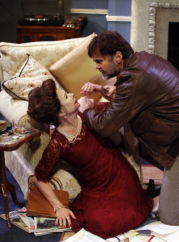 Felicity Dean and Patrick Toomey (John Bindon) in A Princess Undone (Photo: Simon Annand)