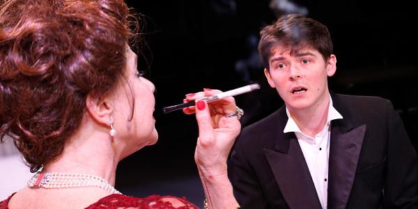 Felicity Dean and Alexander Knox (Tristan Peel) in A Princess Undone (Photo: Simon Annand)