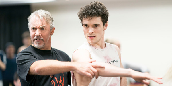 Fernando Mira and Jonny Labey in Strictly Ballroom The Musical rehearsals (Photo: Johan Persson)