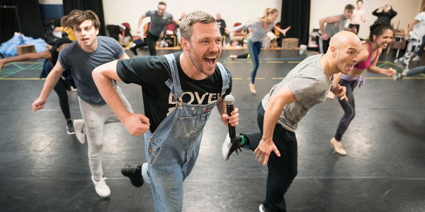 Will Young and the cast of Strictly Ballroom The Musical (Photo: Johan Persson)