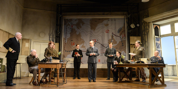 The cast of Pressure at Park Theatre (Photo: Robert Day)