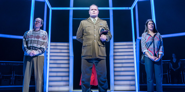 Mark Meadows, Gavin Spokes and Charles Ingram in Quiz (Photo: Johan Persson)