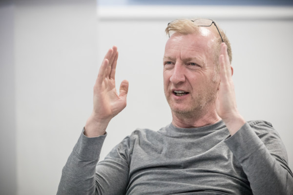 Steffan Rhodri - Rehearsals for Killer Joe - Photographer credit Marc Brenner