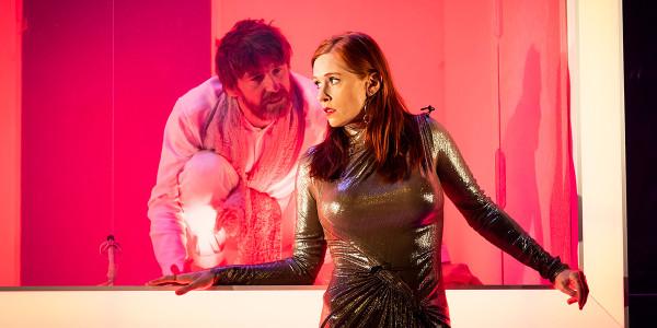 Paul Anderson and Audrey Fleurot in Tartuffe (Photo: Helen Maybanks)