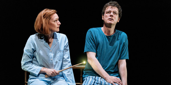 Susie Trayling and Jamie Ballard in Harry Potter And The Cursed Child (Photo: Manuel Harlan)
