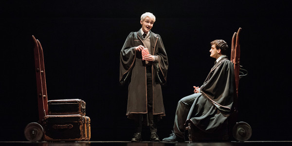 Jonathan Case and Joe-Idris Roberts in Harry Potter And The Cursed Child
