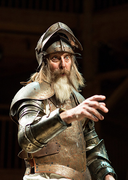 David Threlfall in the original RSC production of Don Quixote (Photo: Helen Maybanks)