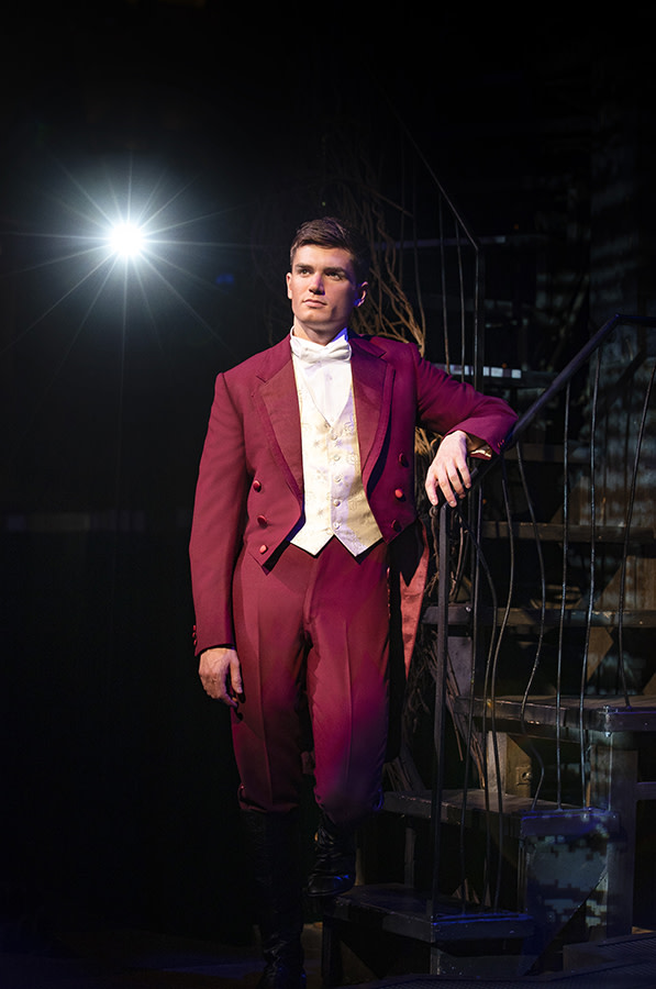 David Witts (Fiyero) in Wicked (Photo: Darren Bell)