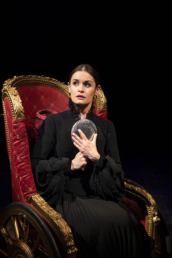 Rosa O'Reilly (Nessarose) in Wicked (Photo: Darren Bell)