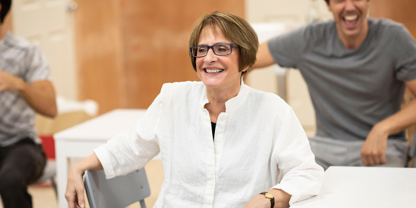 Patti LuPone in Company rehearsals (Photo: Helen Maybanks)