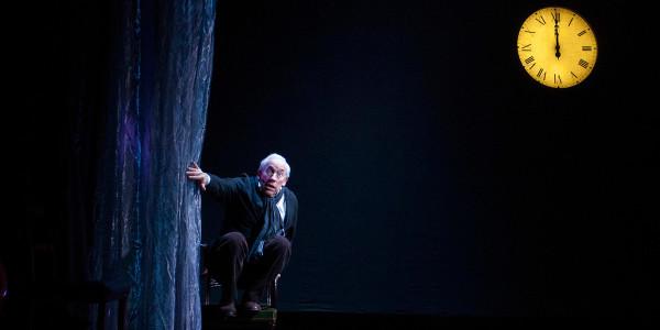 Simon Callow in A Christmas Carol (Arts Theatre)