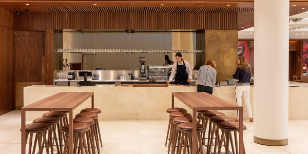 The new Royal Opera House café (Photo: ROH/Luke Hayes)