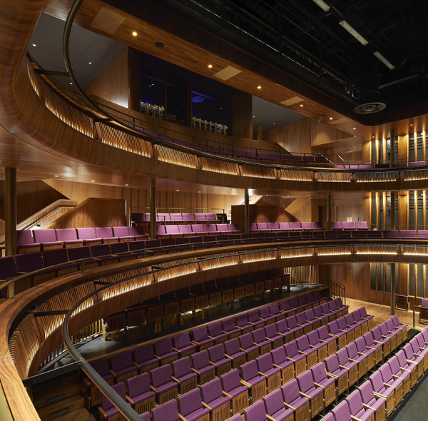 The Royal Opera House's redesigned Linbury Theatre (Photo: Hufton & Crow)