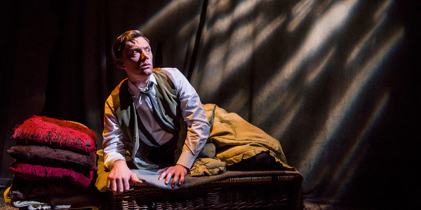 Mark Hawkins in The Woman In Black (Photo: Tristram Kenton)