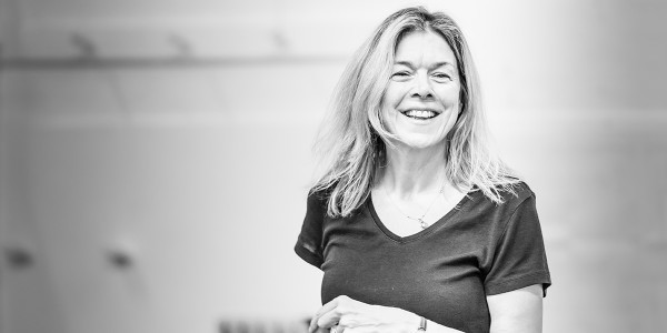 Janie Dee in Pinter Four rehearsals (Photo: Marc Brenner)