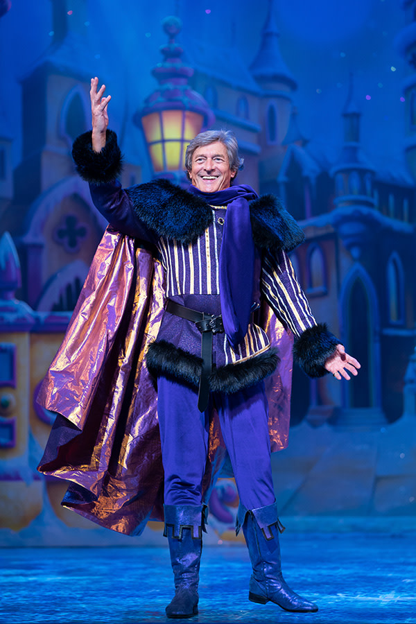 Nigel Havers in Snow White (Photo: Paul Coltas)