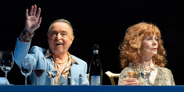 Ron Cook and Celia Imrie in Pinter Six (Photo: Marc Brenner)