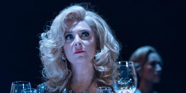 Tracy Ann-Oberman in Pinter Six (Photo: Marc Brenner)