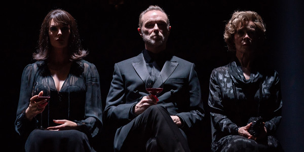Katherine Kingsley, Gary Kemp and Celia Imrie in Pinter Six (Photo: Marc Brenner)