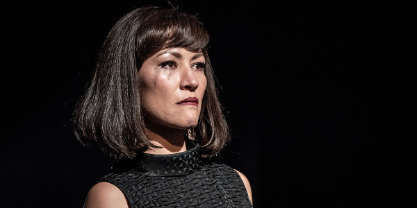 Eleanor Matsuura in Pinter Six (Photo: Marc Brenner)